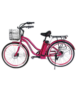 Malibu Lithium Electric Beach Cruiser Bicycle - $949.00
