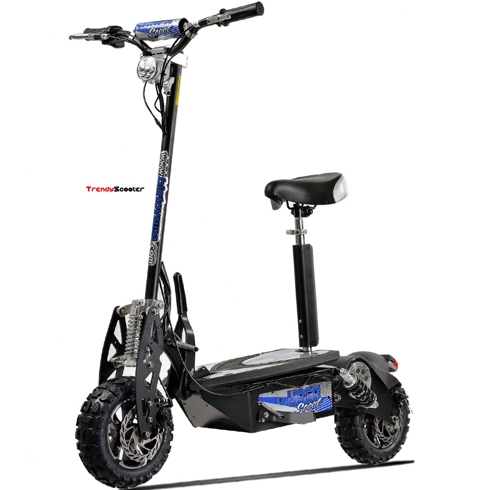 Uberscoot 1600w 48v Adult Electric Scooter Electric Scooters