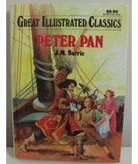 Children Baronet Books Great Illustrated Classics Peter Pan  - $4.95