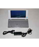 Sony Vaio P Lifestyle Pocket PC VGN P50 Intel Atom 1.33Ghz 80GB HD 1GB R... - $350.00