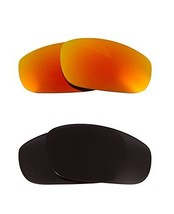 New SEEK Replacement Lenses Oakley FIVES (2009) Polarized Black Yellow - $33.15