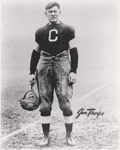 Jim Thorpe Olympics Native American Vintage 11X14 BW Football Memorabili... - $14.95