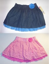 Cherokee Girls Skirts Tulle Hem Blue or Pink Size Small 6-6X NWT - $12.99