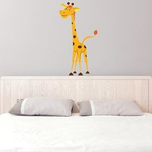 (8'' x 16'') Vinyl Wall Kids Decal Giraffe / Art Home Baby Animal Decor Stick... - $15.83