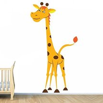 (13'' x 24'') Vinyl Wall Kids Decal Giraffe / Art Home Baby Animal Decor Stic... - $19.38