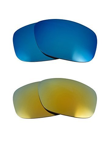 New SEEK OPTICS Replacement Lenses Oakley TEN - Blue Green