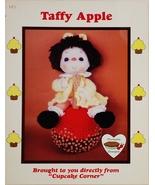 Dumplin Designs Taffy Apple Crochet Pattern Leaflet UP 2  1985 - $6.25