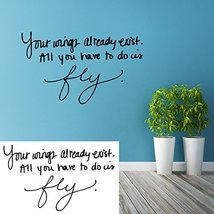 (47'' x 47'') Personalized Handwriting Vinyl Wall Decal Quote / Memorial Sign... - $61.32