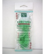 Eyelid Mask Cold Compress cold therapy EARTH THERAPEUTICS BEADED, NEW - $10.99