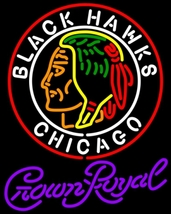 Crown Royal Commemorative 1938 Chicago Blackhawks Neon Sign - $799.00