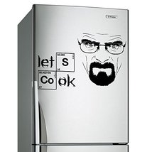 (20'' x 13'') Vinyl Wall Decal Breaking Bad Heisenberg Quote / Lets Cook Text... - $18.31