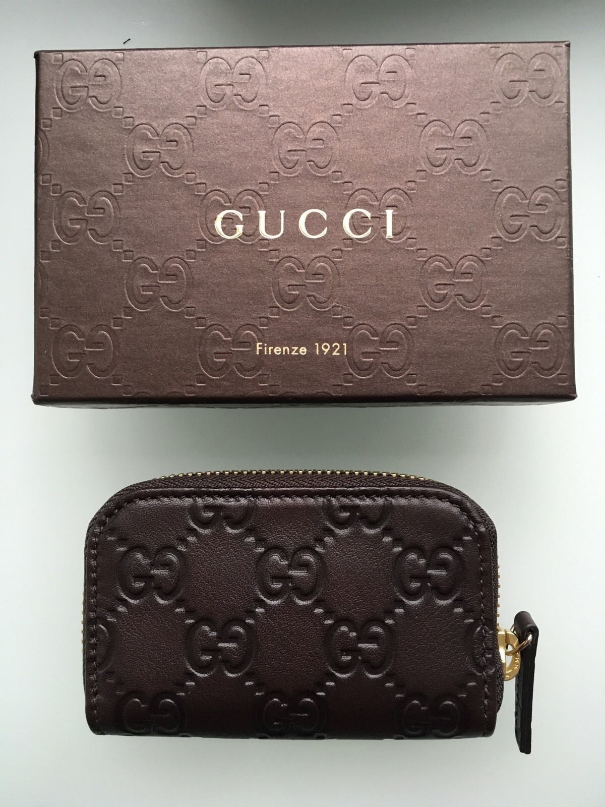 5b886ec862e7 Gucci Small Zip Around Wallet Card Case New and 50 similar items. S l1600