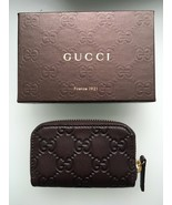 GUCCI Small Zip Around Wallet Card Case - NEW - $222.75