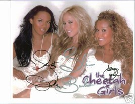 THE CHEETAH GIRLS GROUP SIGNED AUTOGRAPHED RP PHOTO BY3 - $13.99