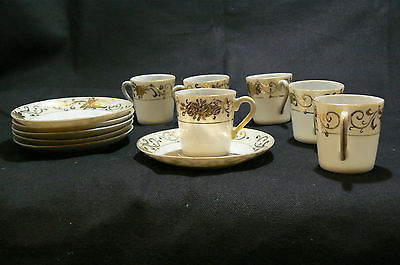 Antique Nippon White Porcelain Heavy Gold and 50 similar items
