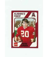 1989 Alabama's Finest #285 Pete Cavan - ALABAMA CRIMSON TIDE - $1.99