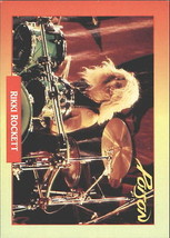 1991 Brockum Rock Cards #132 Rikki Rockett -Poison-Drummer- - $2.45