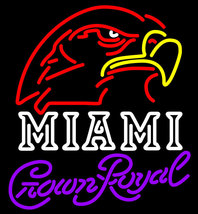 Crown Royal Miami University Fall Session Neon Sign - $799.00