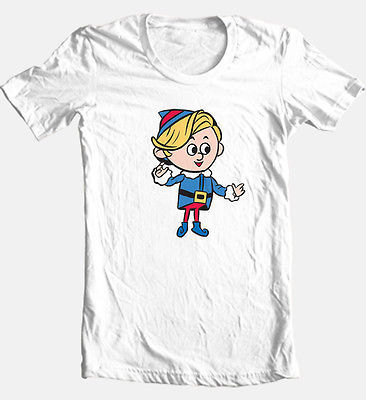 Hermey Elf T-shirt Rudolph misfit toy Christmas show 100% cotton graphic tee
