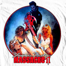 Slumber Party Massacre II T-shirt retro 1980's slasher movie 100% cotton tee image 1