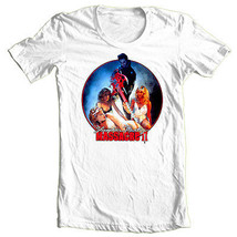 Slumber Party Massacre II T-shirt retro 1980's slasher movie 100% cotton tee image 2