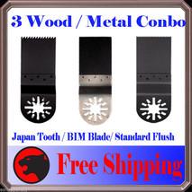 3 Oscillating Multi Tool Saw Blade For Fein Multimaster Craftsman Nextec... - $9.77