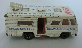 NASA Tracking Station Vehicle Matchbox Car Toy 1980 Space Bus 1:114 Door Opens - $4.99