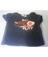Born To Play - Boston Red Sox - 18mos Toddler Shirt - $7.00