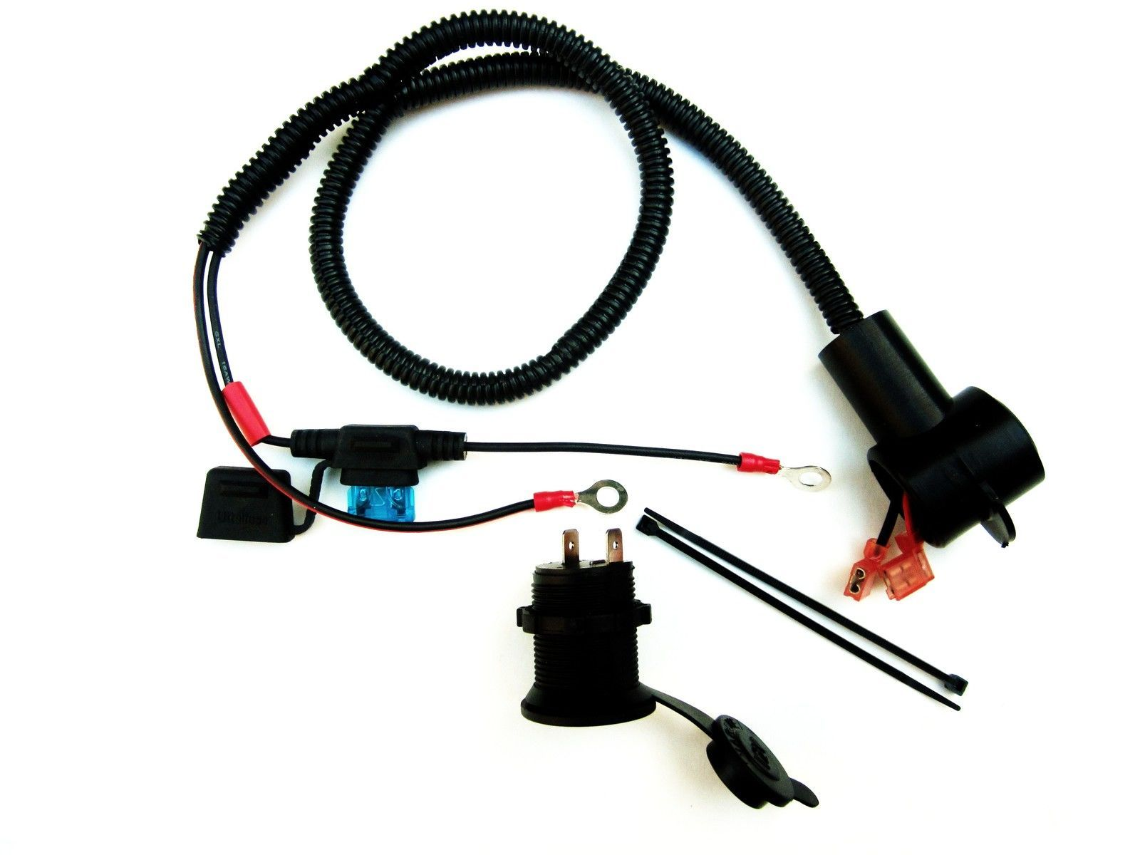 Tight Install Motorcycle Marine Cigarette And 21 Similar Items Wiring Lighter Socket On S L1600 12v Accessory Outlet 30