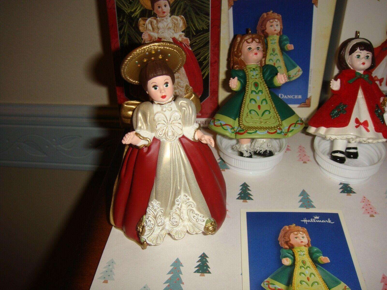 Hallmark 1998 05 06 11 & 13 Madame Alexander Series 01 10 11 16 & 18  Ornaments image 3