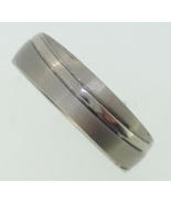 Titanium Ring  -brushed and polished - $25.00