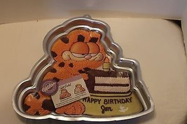 Garfield cake pan new with color insert - $9.50