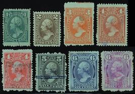RB11-18b, Seven Used Proprietary Stamps F-VF Cat $206.00 Stuart Katz - $150.00