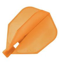 Harrows Clic - Orange- Standard size Flight - set of 3 perfect 90° degree angles - $8.75