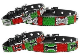 Christmas Bone Ice Cream Dog Collars * 2 Design... - $13.85 - $20.78