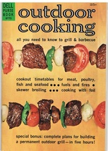 Vintage Dell Purse Book Outdoor Cooking - $3.99