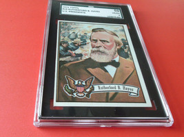 1972  Topps  U.S. Presidents   # 19    Rutherford  B. Hayes    Sgc  50   !! - $19.99