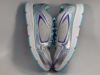 FIla Soar 2 Women's Athletic Running Shoes Size US 9 M (B) EU 40 Silver Purple