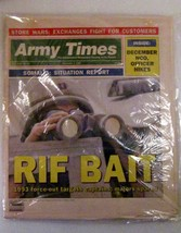 Army Times Dec 7, 1992 Original Complete Newspaper - $9.99