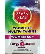Seven Seas Complete Multivitamins women 50 plus Energy Release immunity - $28.22