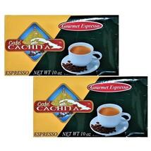 Cafe Cachita Gourmet Espresso Coffee (10 Oz Brick) 2 Brick - $18.00