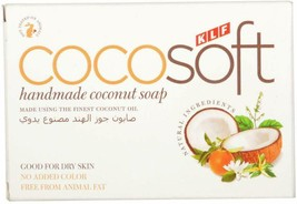 Cocosoft Coconut Soap Pack Of 5 Handmade and Natural Ideal pure Coconut ... - $13.28