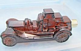 AVON decanter glass car bottle vintage decorative automobiles  - $12.09
