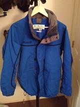 COLUMBIA JACKET MEN'S SIZE M COAT BLUE GREY - $33.25