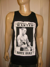 Nate Diaz Black Tank Top / UFC Americas Most Wanted Connor McGregor MMA - $14.99+