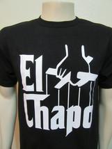 El Chapo Black T-Shirt / Mexico Cartel Godfather Alpacino - $14.99+
