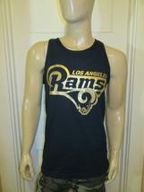 Los Angeles Rams Original Logo Navy Tank Top Gold Print / Football NFL CA - $14.99+