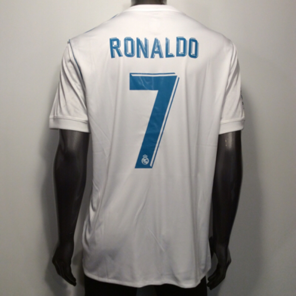 pick up e4159 173a4 Img 0393. Img 0393. Previous. 2017-18 Real Madrid Adidas Cristiano Ronaldo  7 XL Home Soccer Jersey