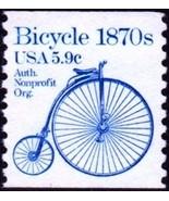 1982 5.9c Bicycle, Coil Scott 1901 Mint F/VF NH - ₨63.88 INR