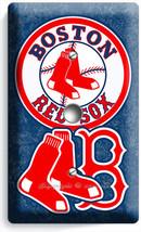 BOSTON RED SOX BASEBALL TEAM PHONE JACK TELEPHONE COVER WALL PLATE GARAG... - $8.90